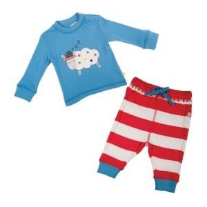 frugi-pyjamas-frugi-thomas-long-john-pyjama-set-harbour-blue-tomato-chunky-stripe