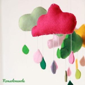 Nonsolonuvole e le sue adorabili decorazioni in feltro