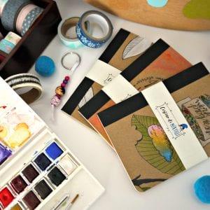 Illustrazione, grafica, passione con Cestino di Mirtilli
