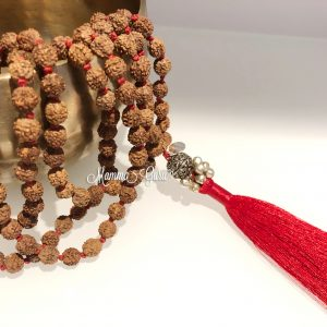 Mala Semi Rudraksha